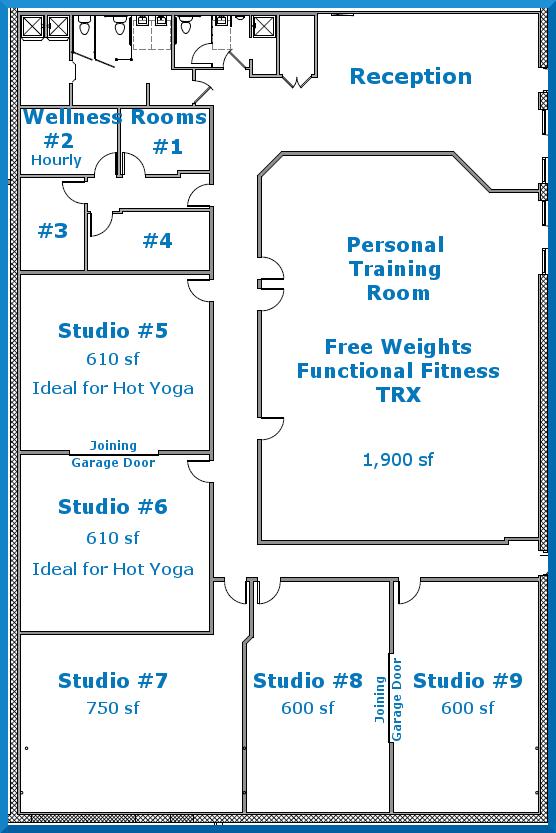 Rent A Studio Revolve Wellness Studios